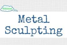 Metal Sculpting (A&C) / Make metal sculpting your hobby OR business! Learn more at www.hobsess.com/arts-crafts/metal-sculpting. (Follow this board if you love metal sculpting! If you'd like to contribute, send me a Pinterest message or email at Rev@hobsess.com)