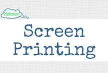 Screen Printing (A&C) / Make screen printing your hobby OR business! Learn more at www.hobsess.com/arts-crafts/screen-printing. (Follow this board if you love screen printing! If you'd like to contribute, send me a Pinterest message or email at Rev@hobsess.com)