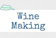 Wine Making (FOOD/DRINK) / Making wine could be your hobby OR business! Learn more at www.hobsess.com/fooddrink/wine-making. (Follow this board if you love making wine! If you'd like to contribute, send me a Pinterest message or email at Rev@hobsess.com)