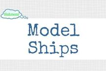 Model Ships (LEISURE) / Making model ships could be your hobby OR business! Learn more at www.hobsess.com/leisure/model-ships. (Follow this board if you love model ships! If you'd like to contribute, send me a Pinterest message or email at Rev@hobsess.com)