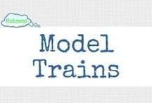 Model Trains (LEISURE) / Making model trains could be your hobby OR business! Learn more at www.hobsess.com/leisure/model-trains. (Follow this board if you love model trains! If you'd like to contribute, send me a Pinterest message or email at Rev@hobsess.com)