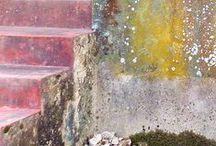 colors I  love on walls / textures,colors