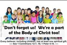 Children's Ministry / Let's disciple children to love the Lord with all their heart, to grow in grace through the work of His Spirit in their lives, and to be a integral part of the Church today.
