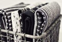 Textiles and ceramics