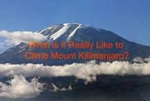 Mount Kilimanjaro in Tanzania / Our charity climb of Mount Kilimanjaro for Climb for Sight with Amani Africa in July 2014