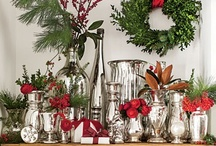 Christmas in Dixie / Adore the beauty and smells of The Greens at Christmas...pine, cedar, fraser fur, magnolia, nandina, and holly.   / by Cynthia Cummings