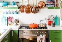 Cool Kitchens / Inspirational and beautiful kitchens