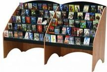 Library Display / Furnishings for school and public libraries for books, magazines and media.