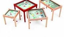 Magnetic Sand Tables by Gressco / Commercial quality activity tables for children's waiting areas.