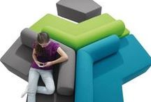 Teen and Young Adult Seating / School and Library seating and collaborative learning design areas for children and young adults.