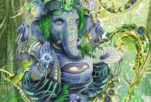 Elephants ❤️ Ganesha / by Barbra