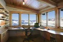 Dream Writing Spaces / Rooms & Offices for Writers