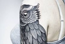 Tattoo / Tattoos that I like on people. The style of art that I would enjoy having on my body.