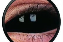 Lentile de contact colorate Sclera / www.lensa.ro - Lentile de contact colorate pentru petreceri / halloween gama Sclera. Culori disponibile: albastre, verzi, caprui, gri, albe, galbene, roz, rosii, portocalii, caprui, mov.