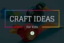 Kids Craft Ideas / Kids crafts activities provide hours of kids fun for parents and children to make and create together. / by Mom Junction
