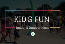 Kids Fun Ideas / I thought it would be useful to list some ways to have fun with your kids