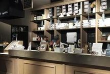 Style details / Our gelato parlours have been carefully designed and built so that our customers can feel welcome in a warm and elegant setting where they can taste our delicious gelato.