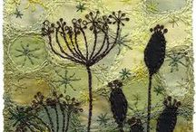 Crafty Projects / Textile art projects - for those non-gardening moments!