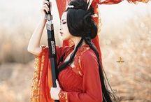 Ancient Japan & China / Geishas and art