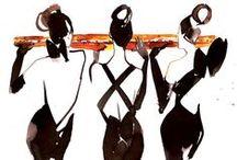 (Dancers) Illustration