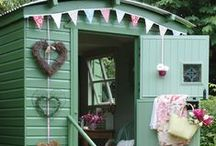 Garden Sheds / Functional storage space or romantic retreat... What can you do with your garden shed?