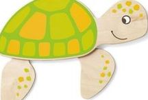 Fun Wall Decorations by HABA & Gressco / Commercial grade wall decor for schools, libraries, hospitals, or any children's space. Www.gressco.com