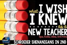 FOR NEW TEACHERS! / Hello new teachers! Welcome to your new journey of teaching! This is a gallery of resources created by experienced teachers and educational professionals! These resources and ideas will help you in your new teaching profession. Collaborators: You may pin anything in which you think will help new teachers as they begin their journey. Please share your products as well! *Quotes, articles, and ideas are also encouraged.