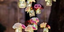 Wedding Inspiration / Ideas for romantic flower arrangements for weddings
