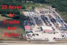 25 Acre Salvage Yard / We sit on a 25 Acre Salvage Yard with thousands & thousands of heavy duty truck parts!  ✅Semi Truck Parts ✅Refuse & Garbage Truck Parts (Rear, Side & Front Load)  Some photos are shared to reflect the array of equipment, makes & models that we receive and are not to be interpreted that that specific unit is immediately available.  **SOME UNITS NOT READILY AVAILABLE**
