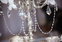 """Diamonds Wedding / """"Diamonds Are a Girls Best Friend."""" Wedding theme for a course project in Wedding Planning"""
