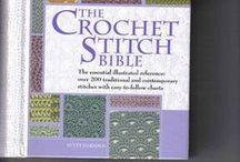 Uncinetto - Tecniche, raccolte di punti e istruzioni / Collections of crochet stitches, tutorials and instructions / by Francesca