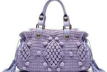Borse uncinetto: istruzioni / crocheted bags, purses, totes: instructions and/or tutorials