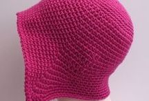 Idee per cappelli uncinetto / Ideas for crocheted hats