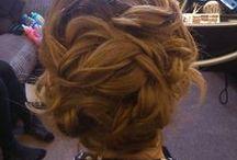 Wedding Hair by Kyrelle Devon / wedding hair