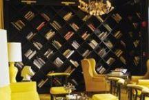 design w nowoczesnych wnętrzach / design in modern interiors / Design w nowoczesnych wnętrzach. Połączenie monochromatyczności i intensywnych kolorów.  Design in modern interiors. The combination of monochromatic and intense colors.