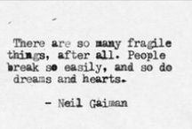 neil gaiman fangirl / two words only: neil gaiman. my all-time favourite author!