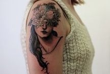 ink / tattoos adorn the skin with awesomeness in the shape of ink