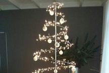 Alternatieve Kerstboom/ Kerst Spiraal/ Christmas Spiral / Wat je ook kunt doen met de grote en kleine  Kerst  Spiraal van http//:www.detuinfee.nl