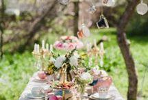 Vintage Wonderland Bridal Shower Inspiration