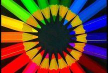 Fargeglede / color / Farger til å bli glad av.