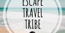 Tablero Grupal /Travel Escape Tribe / Welcome to Travel Escape Tribe group!! Share you travel dreams, inspiration, tips and wanderlust!!! Rules: 1.Vertical pins only 2.Only travel related pins 3.You may shared 3 pins a day. 4.Repin at least 1 pin from the group, lets support each others. To be added send an email to escapesporelmundo@gmail.com