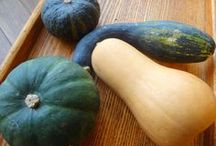 kabocha pumpkin / kabocha, Winter squash, potimarron, pumpkin, citrouille, nankin... in French, Japanese and all styles / by Gourmande in Osaka