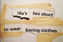 I have absolutely nothing to wear...