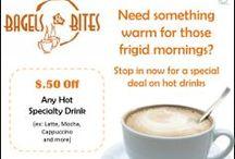 Bagels & Bites Promotions