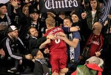 "The RioT / ""Here at the RioT the battle hymn's begun, we're here for RSL!"" / by Real Salt Lake"