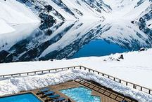 Winter pools / Zwembaden in de winter en sneeuw - Winter and snow swimmingpools #Fonteyn