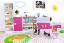 Mobiliario infantil / Referencia de www.educamueble.com. Muebles adaptados a los más peques :)