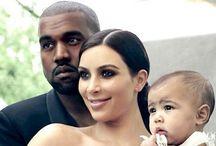 Kimye West / Kim+Kanye=North West / by Brittney Thomas