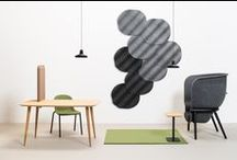 Acoustics / Acoustic elements in Interior Design by De Vorm.