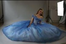 Cinderella Ball Gown Research / While making my remake of the 2015 Cinderella Ball Gown, I put together a board of all my reference photos.  Enjoy! Here's the link to photos of my remake:  www.etsy.com/listing/228447586/cinderella-disney-dress-costume-cosplay
